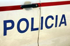 Lisbon Police Stock Image