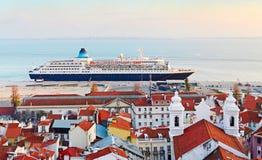Lisbon port, Portugal Stock Photography