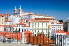 Lisbon, Portugal - Alfama district Stock Image