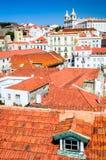 Lisbon, Portugal - Alfama district Royalty Free Stock Photography
