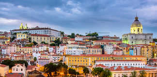 Lisbon, Portugal Alfama stock image
