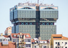 Lisbon, Portugal: architectural contrast Royalty Free Stock Photos