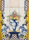 Lisbon, Portugal: Art Deco tiles Stock Photography