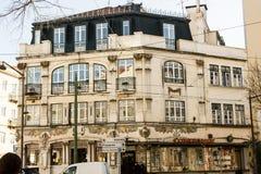 Lisbon, Portugal: art nouveau Royalty Free Stock Photography
