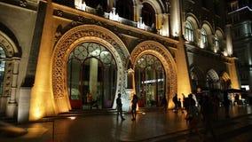 Rossio Station night stock video