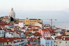 Lisbon Portugal. Capital city bilding Stock Images