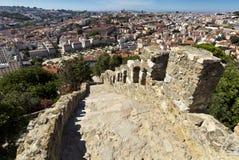 Lisbon, Portugal, The Castelo de Sao Jorge. Stock Photo