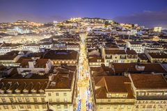 Lisbon, Portugal Castle Royalty Free Stock Photos