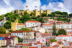 Lisbon Portugal Castle Stock Images