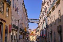 Lisbon Portugal City Center Royalty Free Stock Photos
