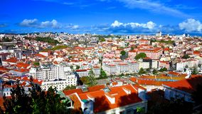 LISBON PORTUGAL CITY VIEW Royalty Free Stock Images