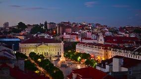 Lisbon Portugal Cityscape stock video