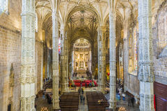 Church Santa Maria in Belem, royalty free stock photo