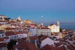 Lisbon, Portugal, Europe - (Sta.Justa)viewpoint Royalty Free Stock Photo