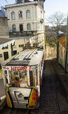 Lisbon, Portugal: Funicular of Lavra Royalty Free Stock Photography