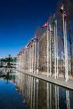 LISBON, PORTUGAL - January 31, 2011: Vasco da Gama center in the. Area around the Park of Nations, created for Expo 1998, Lisbon. Portugal, 20th century Stock Image