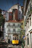 LISBON, PORTUGAL - January 28, 2011: A view of the Alfama neighbourhood stock photo