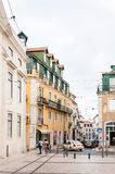 Architecture of Lisbon, Portugal royalty free stock photo