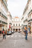 Architecture of Lisbon, Portugal stock photos