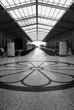 Santa Apolonia Train Station in Lisbon stock photos