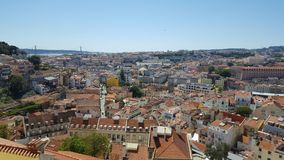 Lisbon portugal. Landscape royalty free stock photo