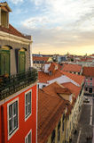 Lisbon, Portugal Magnificent Sky Royalty Free Stock Photo