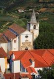 lisbon Portugal Malowniczy, średniowieczny miasteczko Obidos, Obraz Royalty Free
