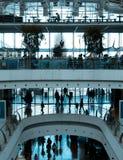 LISBON, PORTUGAL - MARCH 26 2013 People in modern shopping mall Vasco da Gama in Lisbon on July 22, 2014. Vasco da Gama is one of Stock Images