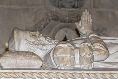 Lisbon, Portugal - March 5, 2016: Tomb of Vasco da Gama Stock Images