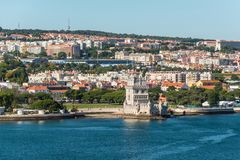 Belem Tower in Lisbon, Portugal Royalty Free Stock Photography