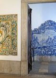 National Azulejo Museum in Lisbon. Stock Photos