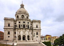 Lisbon in Portugal. National Pantheon church Stock Photo