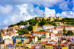 Lisbon, Portugal Old Town Royalty Free Stock Photo