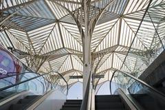 Lisbon Portugal, Oriente Railway station stock photos