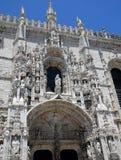 Lisbon, Portugal - renaissance Jeronimos monastery Royalty Free Stock Images