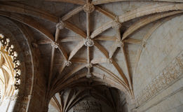 Lisbon, Portugal - renaissance Jeronimos monastery Stock Photos
