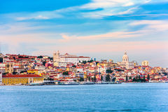 Lisbon, Portugal on the River Royalty Free Stock Photo