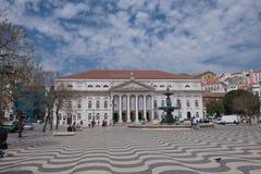 lisbon portugal rossiofyrkant fotografering för bildbyråer