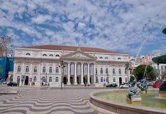 lisbon portugal rossiofyrkant royaltyfri foto