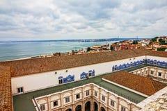 Lisbon in Portugal. Saint Vicente de Fora Monastery Stock Photos