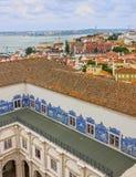 Lisbon, Portugal. Saint Vicente de Fora Monastery Royalty Free Stock Image