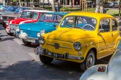 Free Lisbon, Portugal - September 24, 2017: Reto Car Show On Street O Royalty Free Stock Photos - 100748268