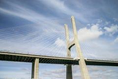 Lisbon, Portugal - September 18, 2006: Detail on one pillar of stock photos