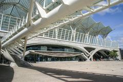 Lisbon, Portugal - September 17, 2006: Exterior of oriente tube royalty free stock photography