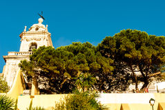 Lisbon, Portugal - Septmember 19, 2016: The Viewpoint by the church of Graca Stock Photo