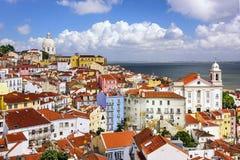 Free Lisbon, Portugal Skyline At Alfama Stock Photo - 46429220