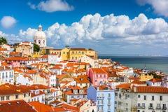 Lisbon, Portugal Skyline Stock Photo