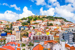 Lisbon, Portugal Skyline Stock Photography