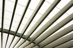 Lisbon Portugal Train Station Estacao do Oriente Subway Architec. Tural Detail Stock Photography