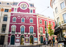 Lisbon, Portugal: Trindade Theater royalty free stock photography